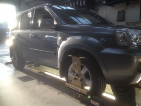 4 Wheel Laser Alignment Facility at J C Motor Services Ltd