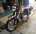 Classic Motorcycle MOT at J C Motor Services Ltd 01663 746099