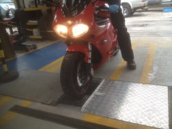 MOT Testing for Motorcycle, Moped, Car and Van MOT Classes 1,2 4 and 7 at J C Motor Services Ltd SK22 3EX
